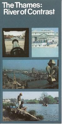 Booklet - The Thames: A river of constant - The Thames and othe waterways board of the creater London council.