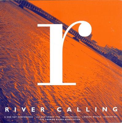 Booklet - River Calling (conference) 14/09/98 - London River Association