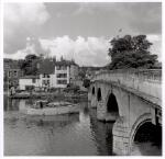 Henley Bridge and the Angel Hotel, Henley on Thames