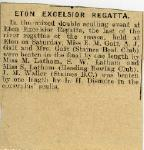Eton Excelsior Regatta